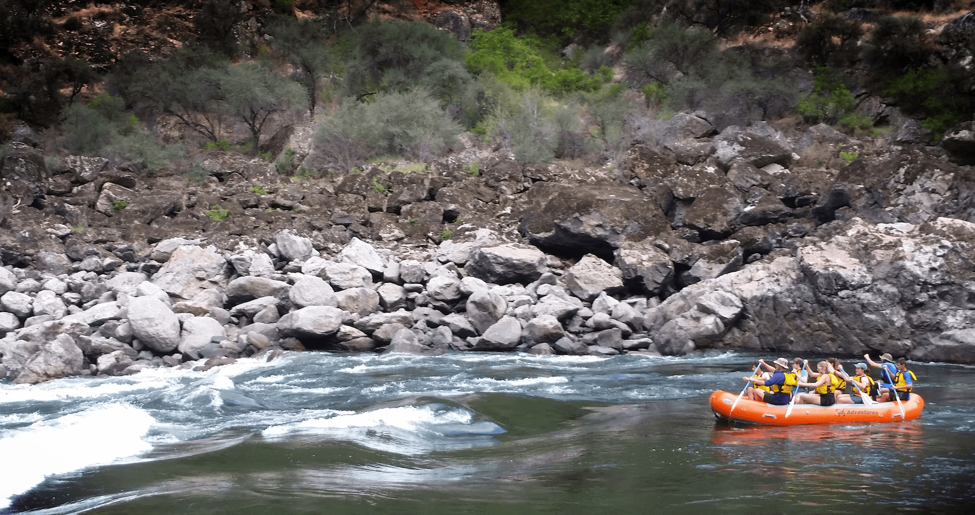 Northwest Rafting Trip – <font color=